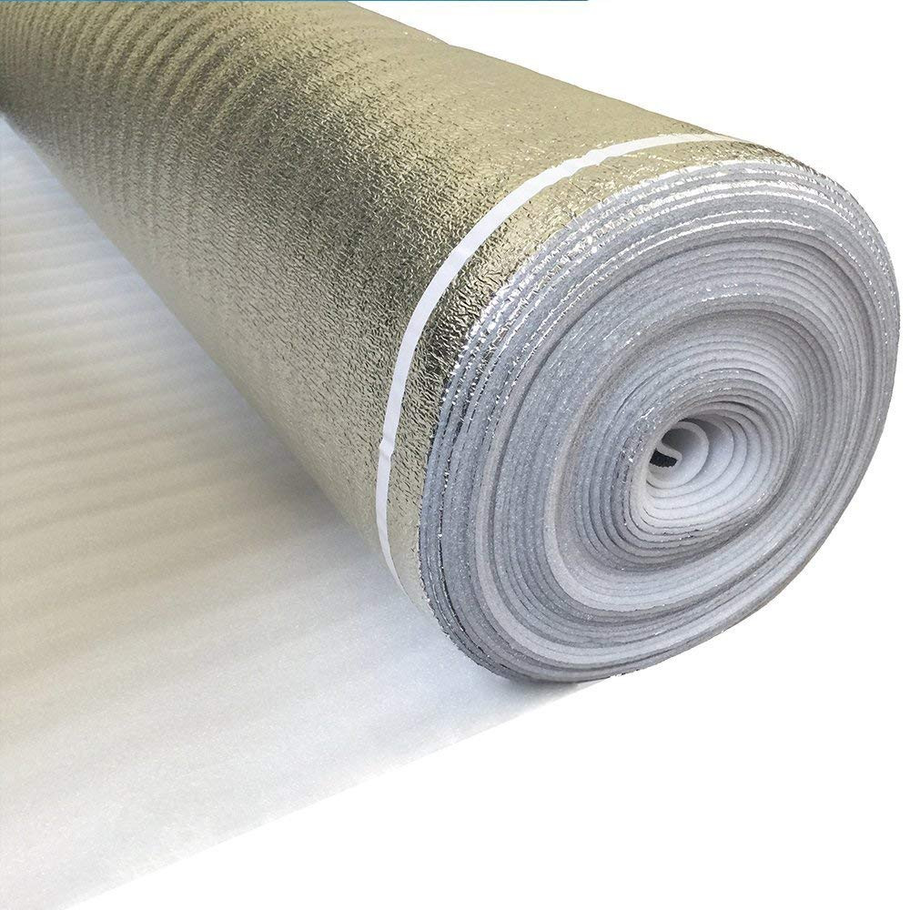 vapor barrier for hardwood floor installation of amerique amsvpd3m premium flooring underlayment padding with tape intended for amerique amsvpd3m premium flooring underlayment padding with tape vapor barrier 3 in 1 heavy duty 3mm thick 200 sq ft per roll coverage sq ft