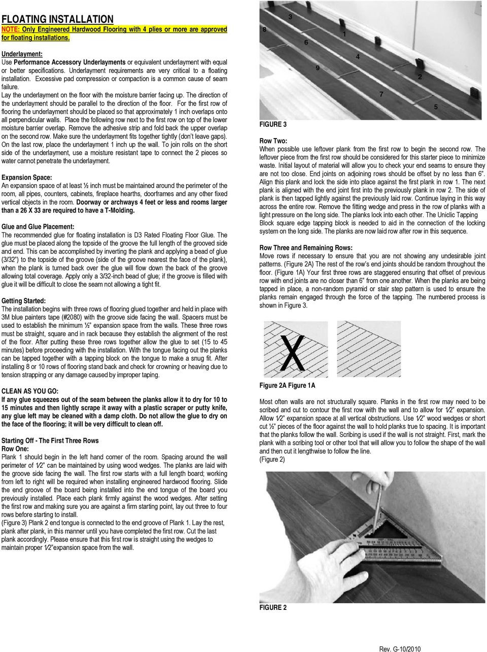 Vapor Barrier Paper for Hardwood Floor Of Engineered Hardwood Flooring Installation Instructions Pdf Inside Excessive Pad Compression or Compaction is A Common Cause Of Seam Failure Lay the Underlayment