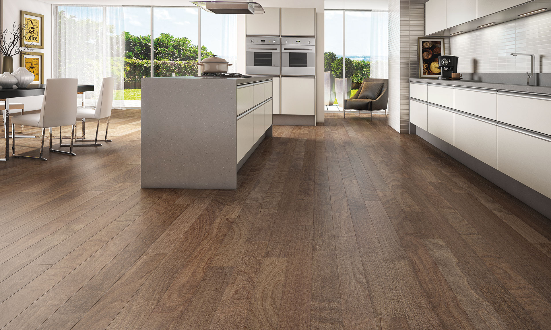 Versini Hardwood Flooring Reviews Of 5 Spanish Hickory Engineered Flooring Spanish Hickory Exotic Floors Pertaining to Triangulo Spanish Hickory Sahara 5 Inch Engineered Hardwood Flooring