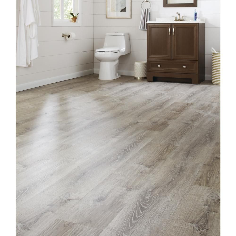 Waterproof Hardwood Flooring Home Depot Of Lifeproof Sterling Oak 8 7 In X 47 6 In Luxury Vinyl Plank Intended for Lifeproof 8 7 In X 47 6 In Sterling Oak Luxury Vinyl Plank Flooring 20 06 Sq Ft Case I966106l the Home Depot