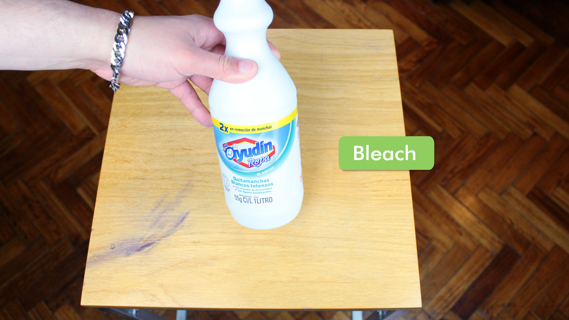 wax pencil for hardwood floor of 4 ways to remove ink stains from wood furniture wikihow regarding remove ink stains from wood furniture step 12 version 5