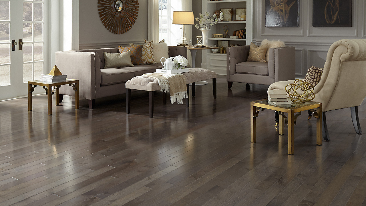 Which Direction Should Hardwood Floors Be Laid Of 1 2 X 3 1 4 Graphite Maple Bellawood Engineered Lumber Liquidators Throughout Bellawood Engineered 1 2 X 3 1 4 Graphite Maple