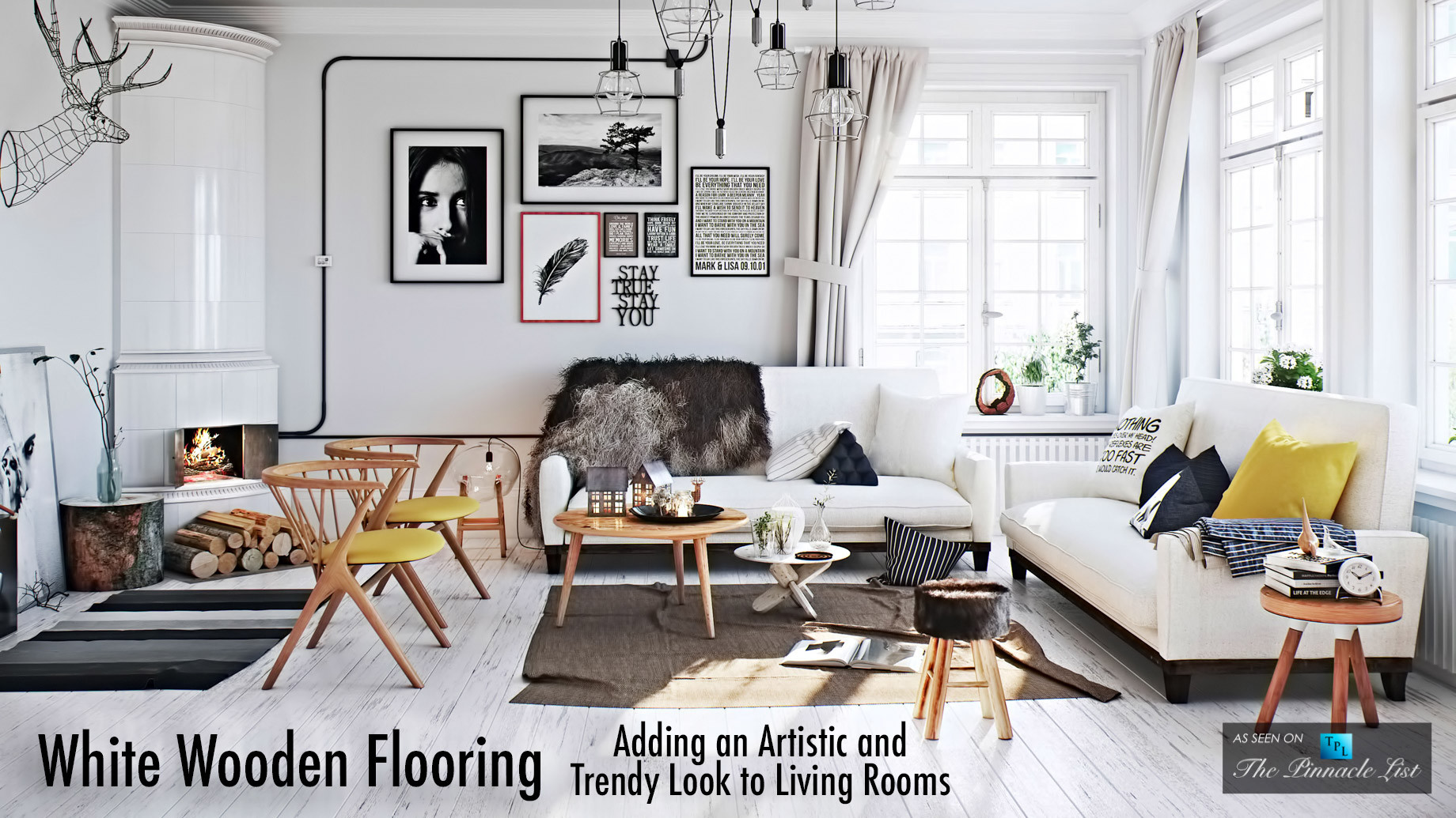 white hardwood floors for sale of white wooden flooring adding an artistic and trendy look to living regarding white wooden flooring adding an artistic and trendy look to living rooms the pinnacle list
