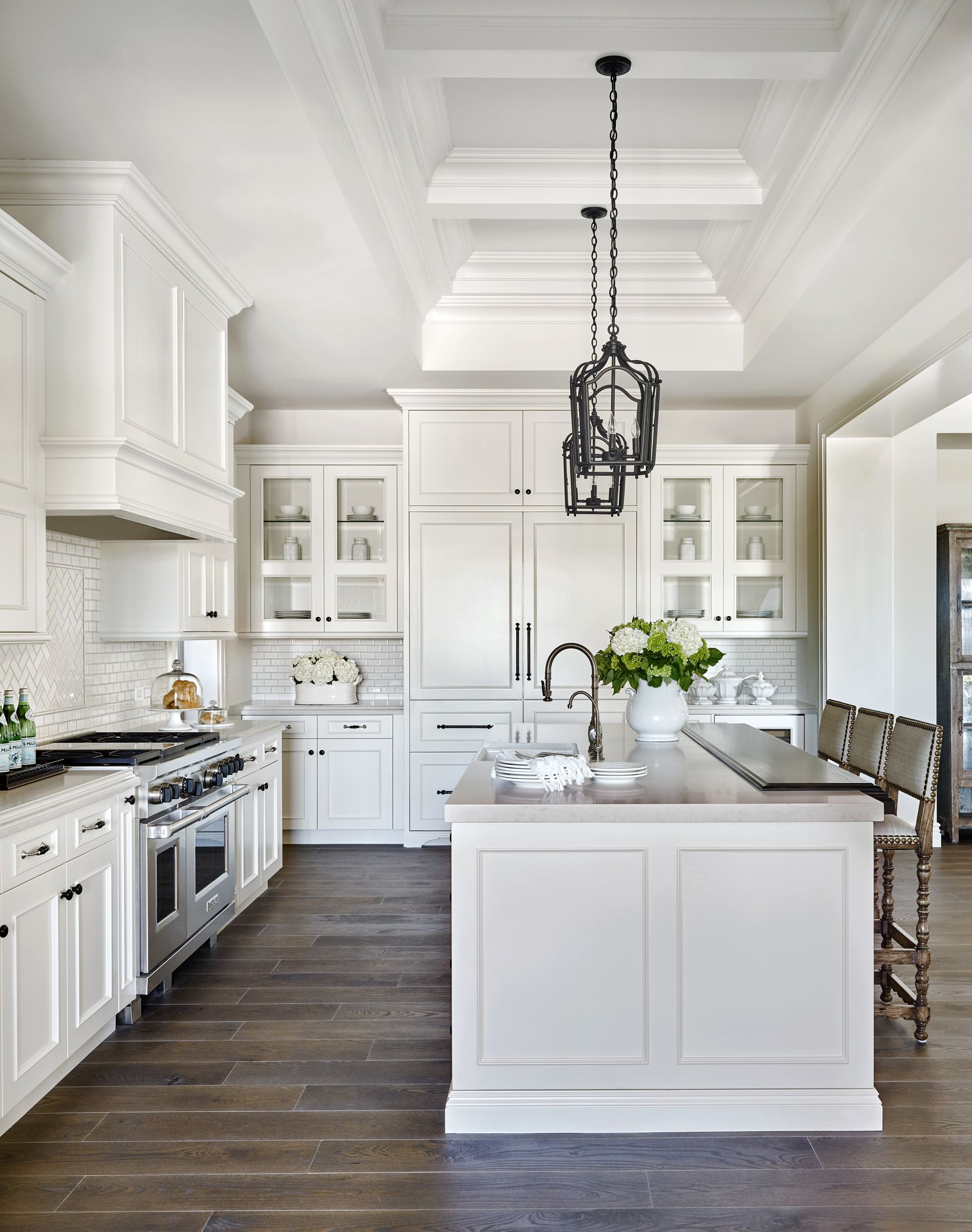 white kitchen with grey hardwood floors of i want this exact layout of island opposite stove whisper rock with regard to i want this exact layout of island opposite stove whisper rock traditional calvis wyant custom homes scottsdale az