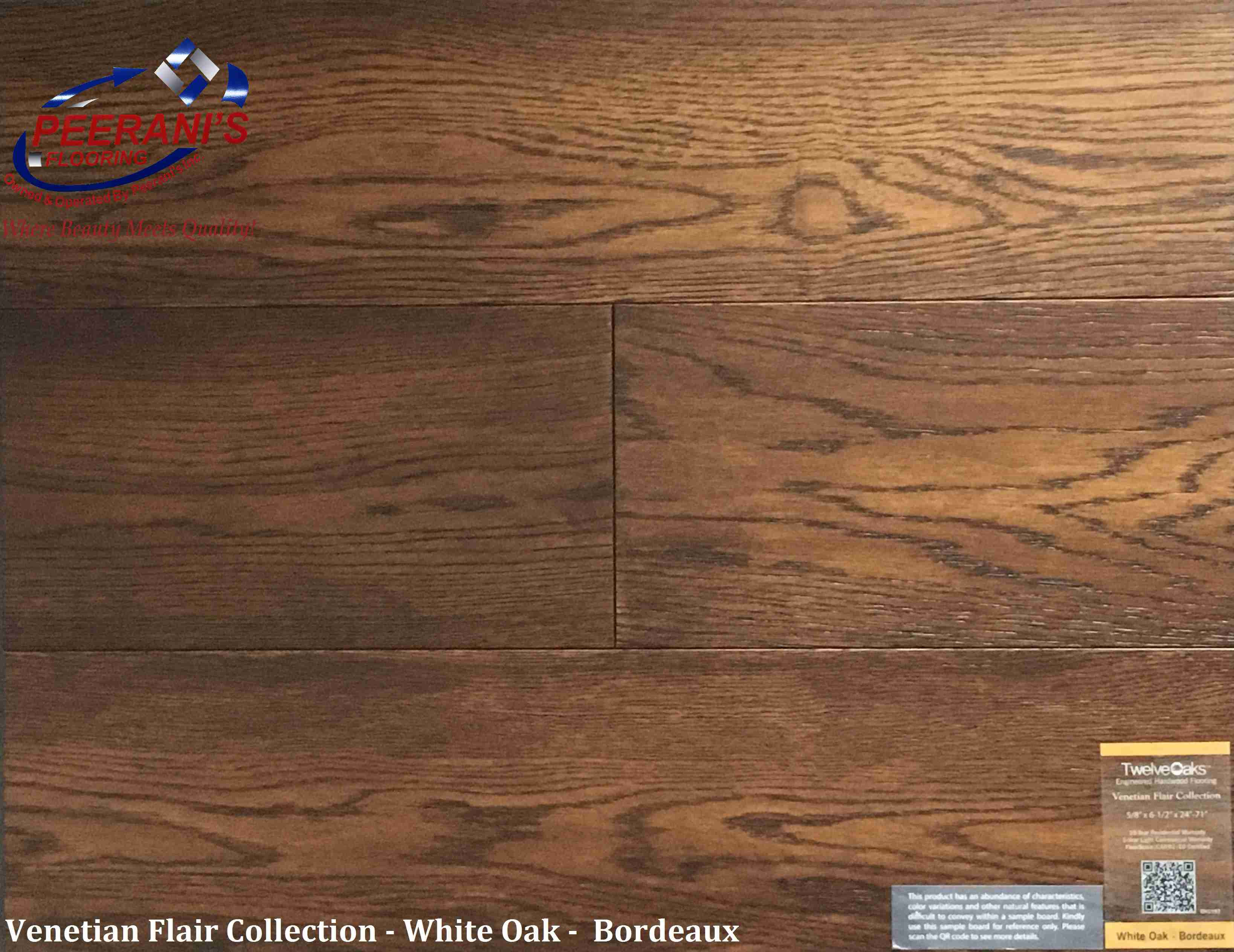 white oak engineered hardwood flooring of twelve oaks archives page 3 of 4 peeranis with regard to venetian flair white oak bordeaux