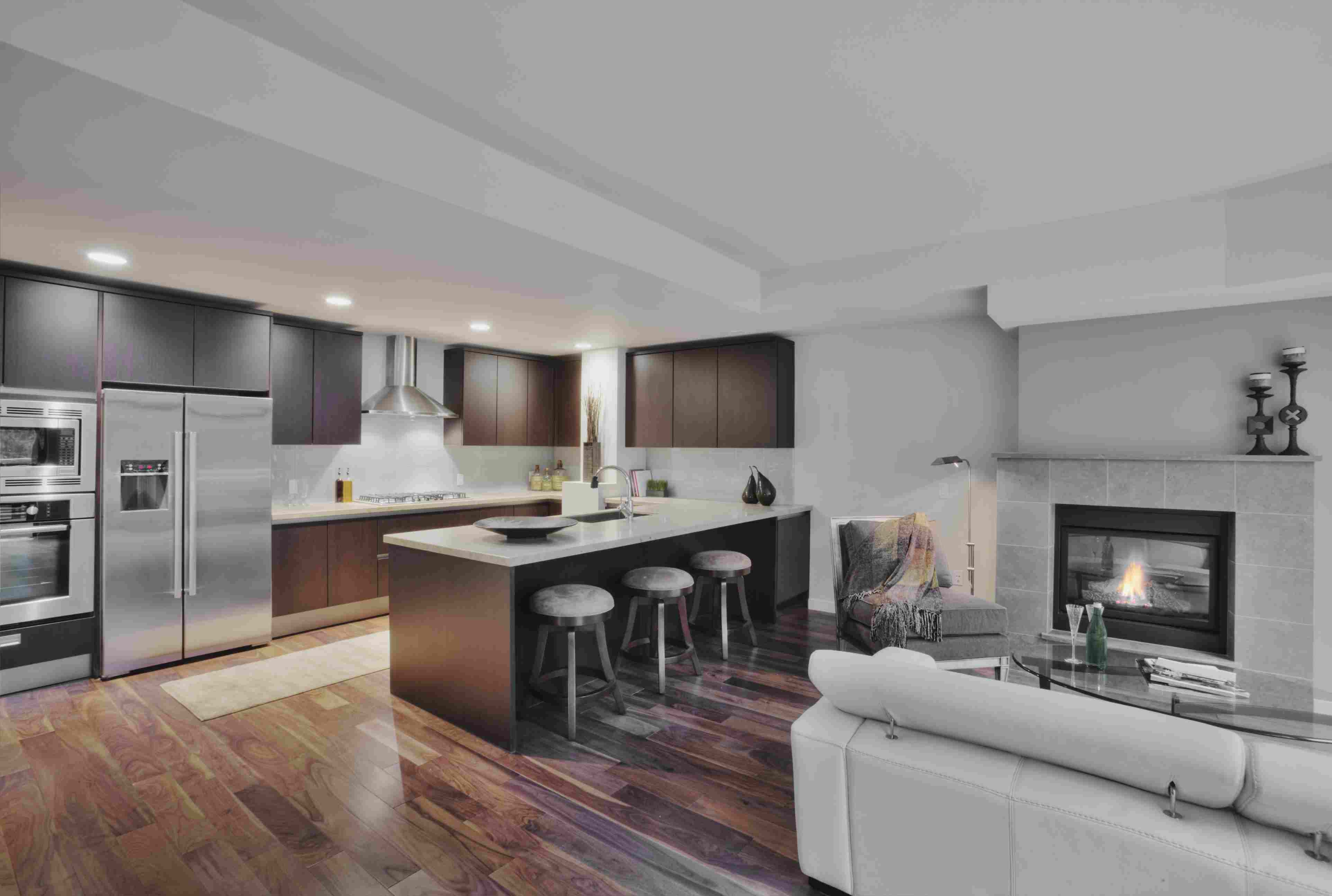 wide plank grey hardwood flooring of gorgeous kitchens with wooden flooring regarding open plan kitchen with wood floor 188074734 spaces images 56a4a1673df78cf77283536c