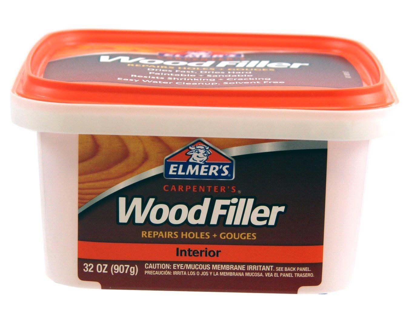 Wood Filler for Hardwood Floor Gaps Of Amazon Com Elmers E848d12 Carpenters Wood Filler 1 2 Pint within Amazon Com Elmers E848d12 Carpenters Wood Filler 1 2 Pint Elmers Products Home Improvement